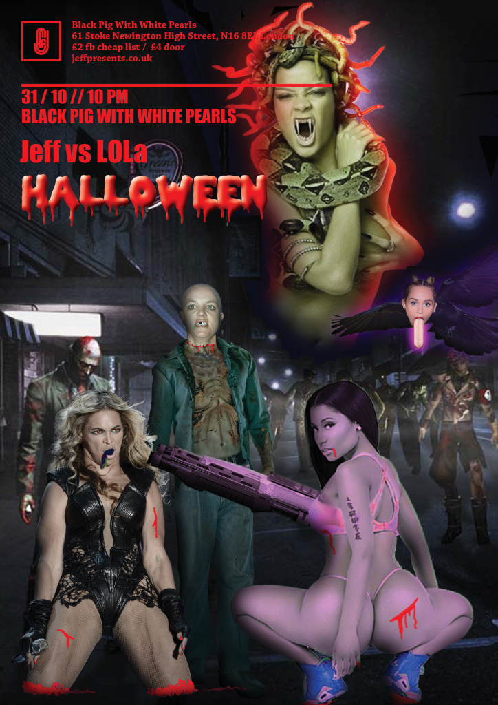 Jeff vs LOLa 4 HALLOWEEN B
