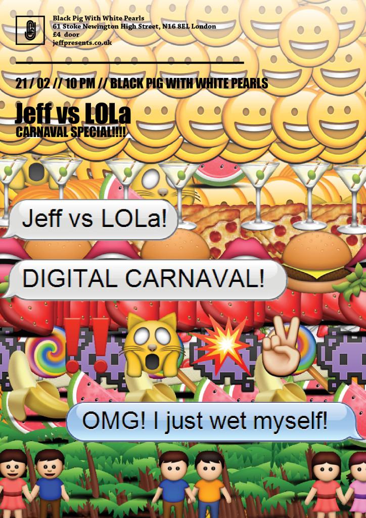 Jeff vs LOLa 5 - carnaval Final